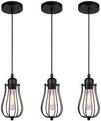 cage pendant lights e26 e27 base
