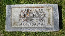 Mary Ada Stewart Bertolotti (1895-1948) - Find A Grave Memorial