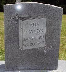 Ada Taylor (1887-1967) - Find A Grave Memorial