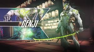 genji overwatch wallpaper wallpaper