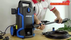 Review máy rửa xe Jakcop ABW-JK-70P phiên bản cải tiến mới, áp lực mạnh mẽ,  tự hút nước từ xô chậu - YouTube