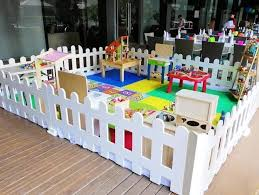 Play Area Fence Babies Kids Toys Walkers On Carousell