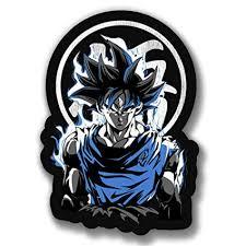 Dragonball Z Dbz Dragon Ball Z Sticker Ultra Instinct Goku Super Saiyan Decal Gift Japanese Anime Collectibles
