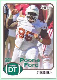 Poona Ford 2018 Sage Hit #23 - Seattle Seahawks, Rookie at Amazon's Sports  Collectibles Store
