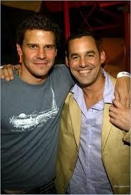 David Boreanaz & Nicholas Brendon   Buffy the vampire slayer ...