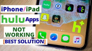 How to Fix hulu not working on iphone | Apple TV hulu apps not working -  YouTube