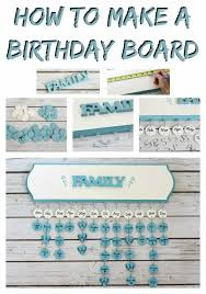 how to make a birthday board fun