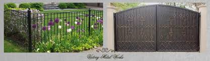 How To Diy Install A Wrought Iron Fence Victory Metal Works
