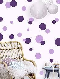 Amazon Com Polka Dot Wall Decals Girls Room Wall Decor Stickers Wall Dots Vinyl Circle Peel Stick Diy Bedroom Playroom Kids Room Baby Nursery Toddler To Teen Bedroom Decoration Dark Light