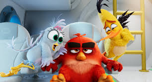 Review: 'Angry Birds' can't fly, but this sequel stays aloft