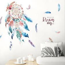 3d Dream Catcher Wall Stickers Mural Vinyl Decal Living Room Bedroom Decor Art Ebay