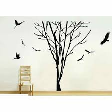 Giant Tree Branch Trunk Wall Stickers Removable Vinyl Decal Home Decor Wall Decals Art Mural Wall Stickers Aliexpress