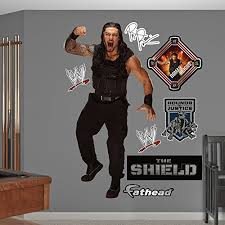 Get Price For Fathead Wwe Roman Reigns Real Big Wall Decal Edwin Kilcrease Dfer