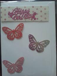 3d Butterfly Martha Stewart Happy Birthday Card