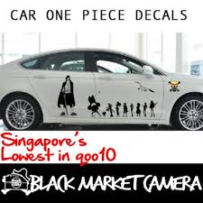 One Piece Car Decal Sticker Car Accessories Accessories On Carousell