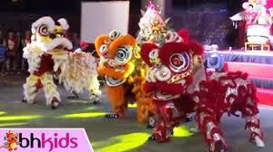 Múa Lân Vui Nhộn - Nhạc Tết Thiếu Nhi 2017