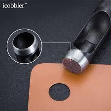 diy steel leather belt hole puncher