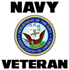 Navy Veteran Decal Nostalgia Decals Military Vinyl Stickers Nostalgia Decals Online