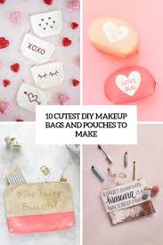 10 cutest diy makeup bags and pouches