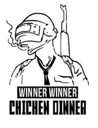 Winner Winner Chicken Dinner Pubg Sticker Logo Gaming Vinyl Decal Ebay