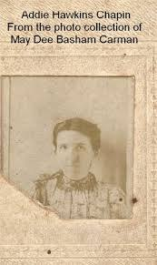 Addie Hawkins Chapin (1868-1954) - Find A Grave Memorial