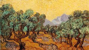 paintings trees vincent van gogh