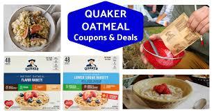 quaker instant oatmeal variety packs