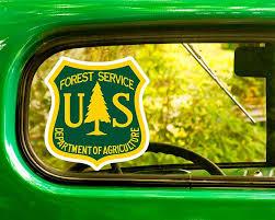 2 U S Forest Service Decals Stickers Bogo The Sticker And Decal Mafia