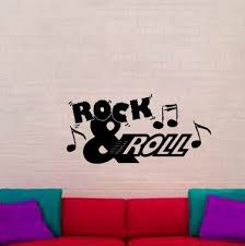 Zoomie Kids Marquita Rock And Roll Music Note Wall Decal Wayfair