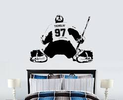 Custom Personalized Goalie Wall Decal 14 Colors Extremely Limited The Decal House