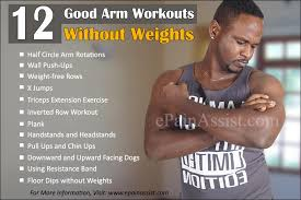 effective arm workouts for men