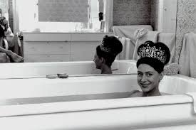 Princess Margaret Bath Photo Signed Print  Lyons Gallery
