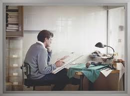 Adrian Walker, artist, drawing from a specimen in a laboratory in ...