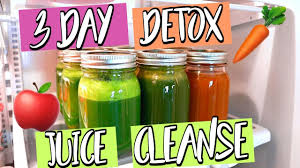 3 day detox juice cleanse lose weight