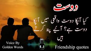 best ever friendship quotes in urdu and hindi the friend in