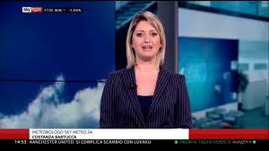 Costanza Bartucca Sky Meteo