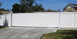 Custom Vinyl Driveway Gates Los Angeles Ca Buy Gates Simi Valley San Fernando Valley Gate Manufacturer Sliding Gate Vinyl Gates Pvc Fence