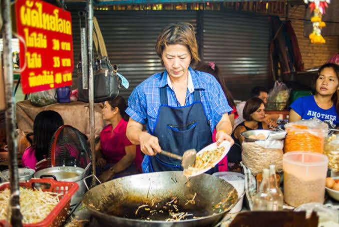 """ผลการค้นหารูปภาพสำหรับ ผัดไทยโอเค ตลาดเก่าเยาวราช"""""""