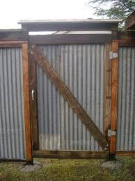 All Recycled Corrugated Metal Privacy Fence Designs Corrugated Metal Fence Fence Design