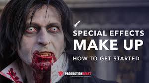 special effects makeup artist