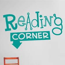 Design With Vinyl Reading Corner Wall Decal Reviews Wayfair