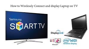 Kết nối laptop với tivi qua wifi - YouTube