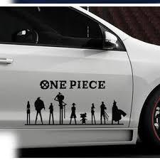 One Piece Car Stickers Shopee Malaysia