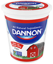 dannon whole milk yogurt all natural