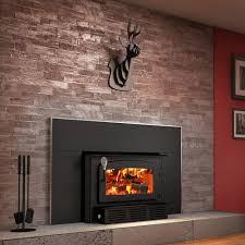 epa certified wood burning insert trio