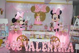 Decoracion De Mini Golden Decoracion Fiesta De Minnie Minnie