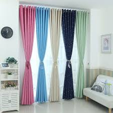 2019 Modern Stars Blackout Curtains Kids Bedroom Curtain For Living Room Elegent Bule Drapes Cortinas Para Sala From Stunning88 27 44 Dhgate Com