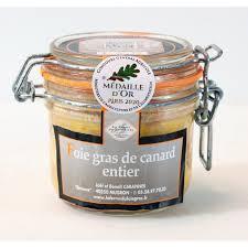 foie gras entier de canard en conserve