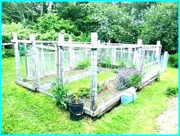 small electric fence for garden