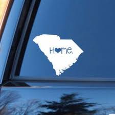 South Carolina Home Decal South Carolina Decal Homestate Decals Love Sticker Love D South Carolina Homes Personalized Vinyl Decal Monogram Car Stickers